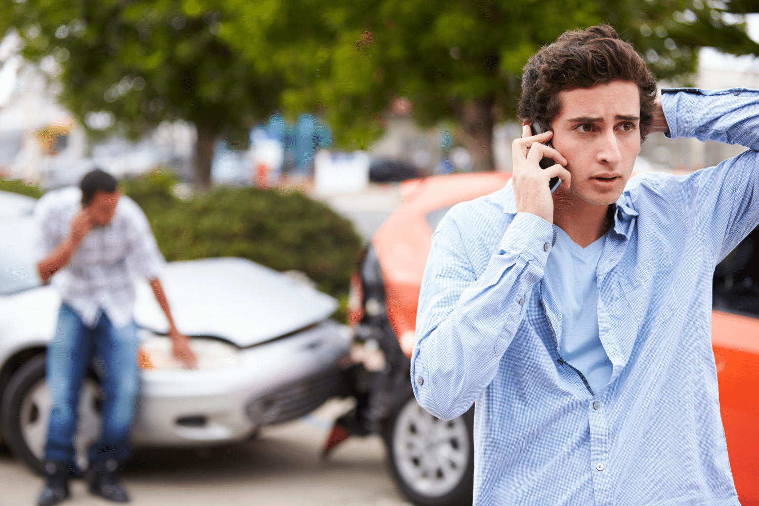 What Should I Do if I Get into a Car Accident? - Accident